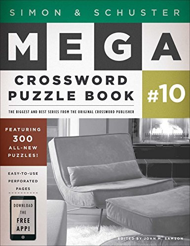 John M. Samson Simon & Schuster Mega Crossword Puzzle Book #10