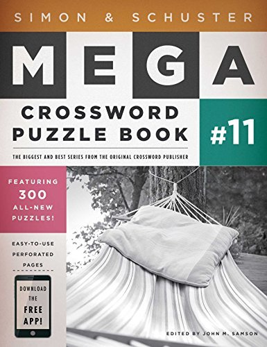 John M. Samson Simon & Schuster Mega Crossword Puzzle Book #11