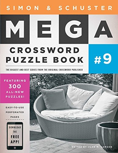 John M. Samson Simon & Schuster Mega Crossword Puzzle Book #9
