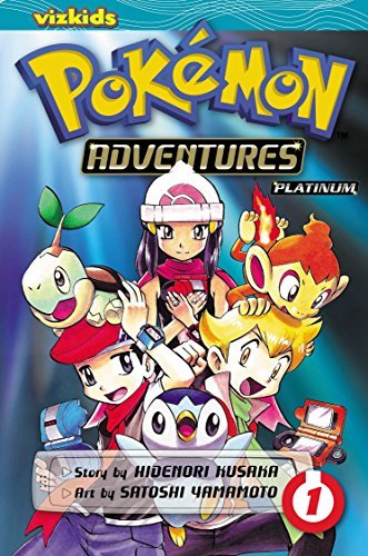Hidenori Kusaka Pokemon Adventures Volume 1 Diamond And Pearl Platinum