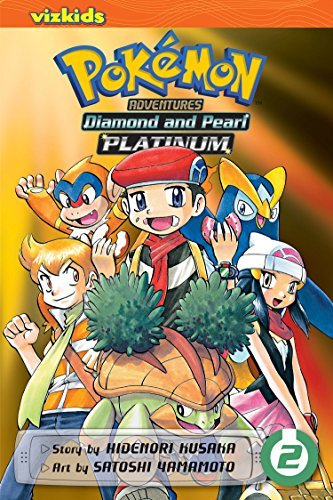 Hidenori Kusaka Pok?mon Adventures Diamond And Pearl Platinum Vol. 2 Original