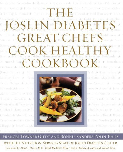 Frances Giedt The Joslin Diabetes Great Chefs Cook Healthy Cookb