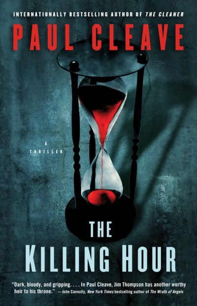 Paul Cleave The Killing Hour A Thriller