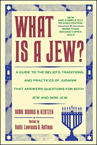 Morris N. Kertzer What Is A Jew 0006 Edition;