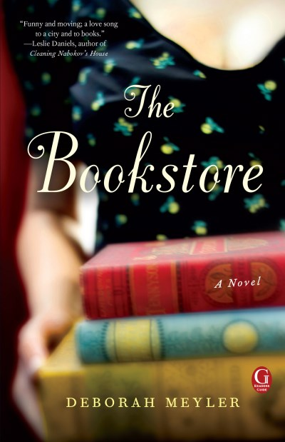 Deborah Meyler The Bookstore A Book Club Recommendation!