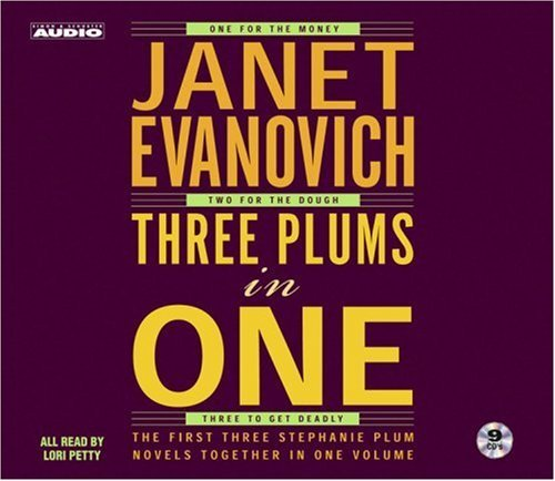 Janet Evanovich Three Plums In One Gift Set Abridged