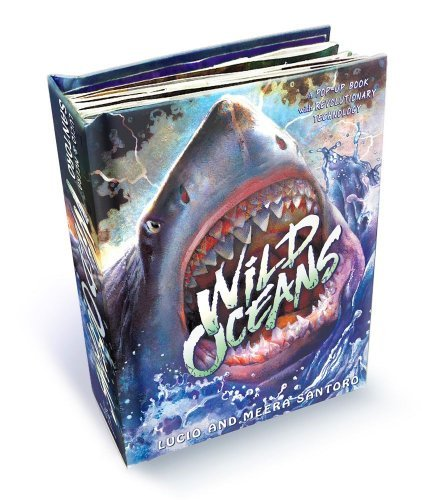 Lucio Santoro Wild Oceans A Pop Up Book With Revolutionary Technology