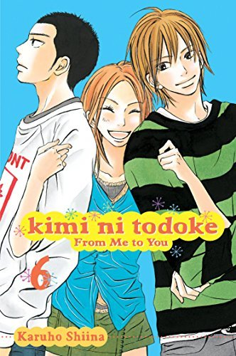 Karuho Shiina Kimi Ni Todoke From Me To You Volume 6