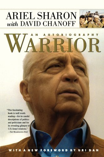 Ariel Sharon Warrior An Autobiography 0002 Edition;