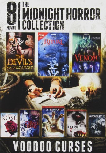8 Film Midnight Horror Voodoo 8 Film Midnight Horror Collect Ws Nr 2 DVD