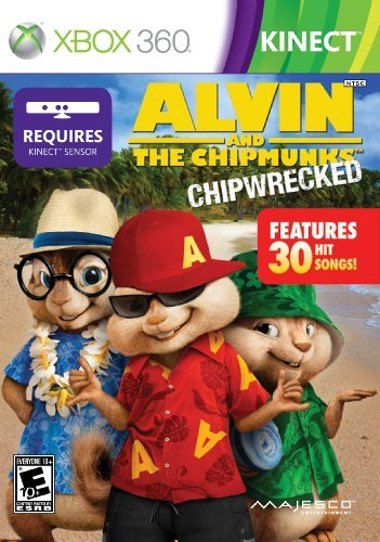 Xbox 360 Kinect Alvin & Chipmunks Chipwrecked Majesco Sales Inc. E10+