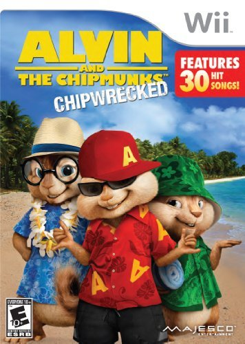 Wii Alvin & Chipmunks Chipwrecked E10+