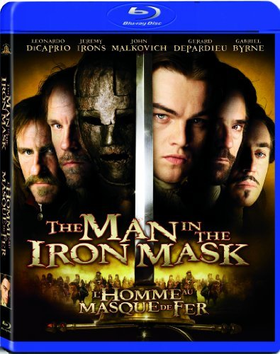 Man In The Iron Mask (1998) Dicaprio Irons Malkovich Blu Ray Ws Pg13