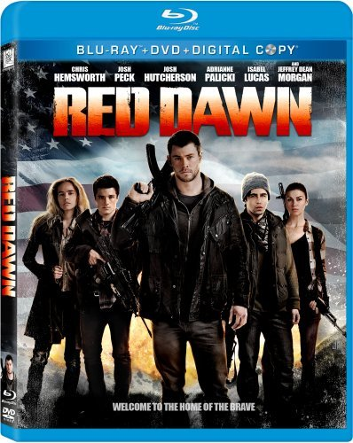 Red Dawn (2012) Hemsworth Hutcherson Lucas Blu Ray Ws Pg13 Incl. DVD Dc Uv