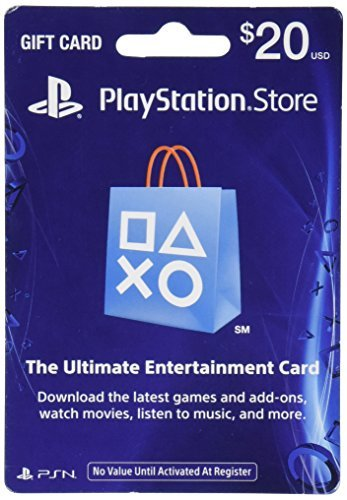 Ps3 Accessory Playstation Network Card $20 For Use With Ps3 And Ps4