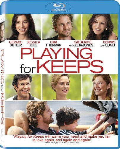 Playing For Keeps Butlet Biel Zeta Jones Quaid Blu Ray Aws Pg13 Incl. Uv