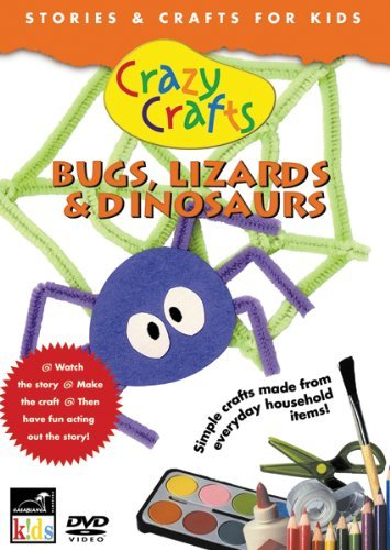 Crazy Crafts Bugs Lizards & Dinosaurs Nr