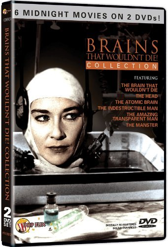 Brains That Wouldn't Die! Coll Brains That Wouldn't Die! Coll Bw R 2 DVD