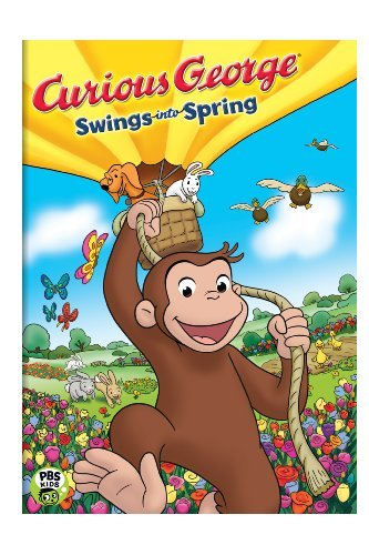 Curious George Swings Into Spring Aws Nr