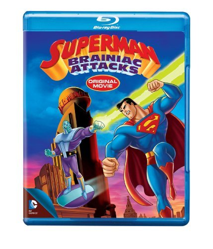 Superman Brainiac Attacks Blu Ray Ws Nr