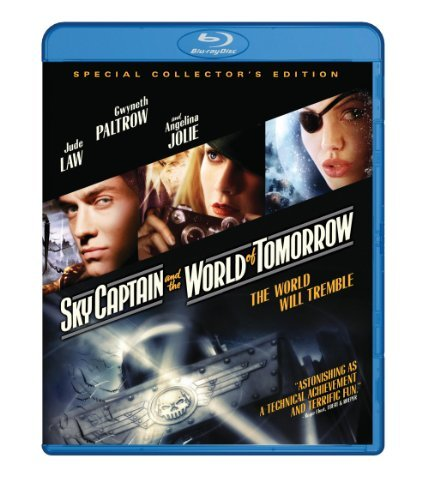 Sky Captain & The World Of Tom Law Paltrow Jolie Blu Ray Ws Pg