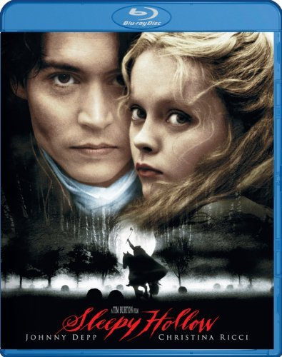 Sleepy Hollow Depp Gambon Ricci Blu Ray Ws R