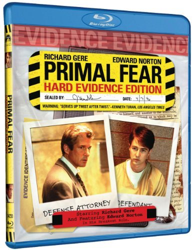 Primal Fear Gere Norton Mahoney Blu Ray R