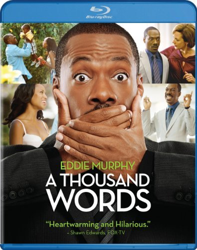 Thousand Words Murphy Washington Curtis Blu Ray Ws Pg13 Incl. Uv