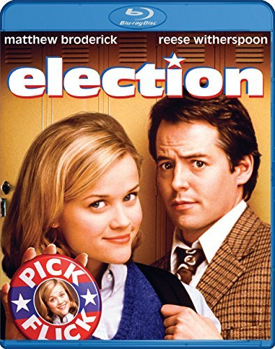 Election Broderick Witherspoon Blu Ray Ws R