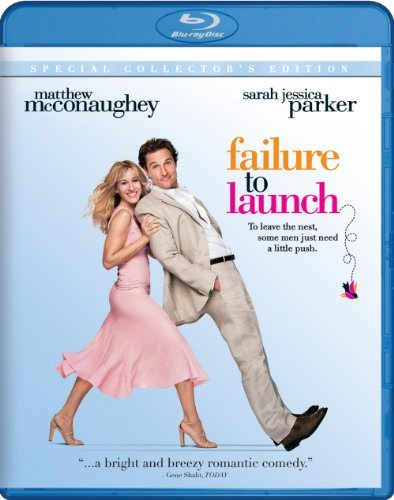 Failure To Launch Mcconaughey Jessica Bates Blu Ray Ws Pg13