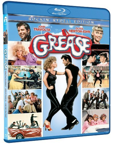 Grease Travolta Newton John Blu Ray Ws Pg
