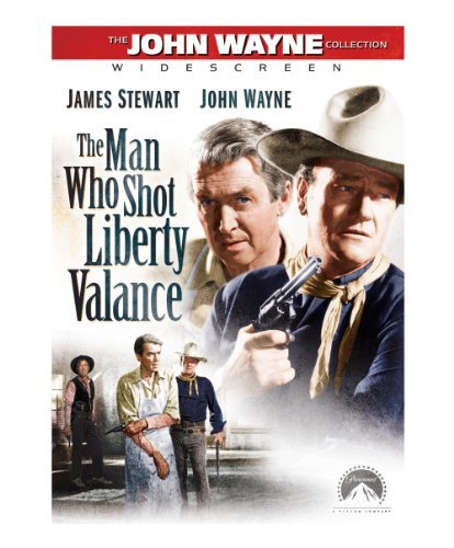 Man Who Shot Liberty Valance Stewart Wayne DVD Nr Ws