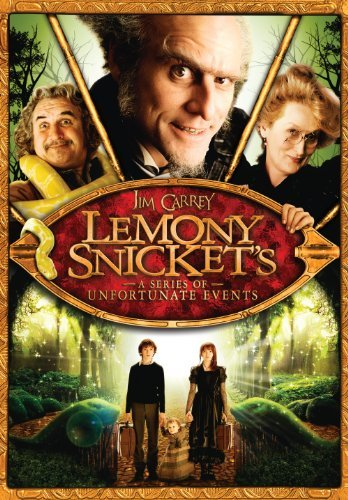 Lemony Snicket's A Series Of Unfortunate Events Carrey Streep Law DVD Pg Ws