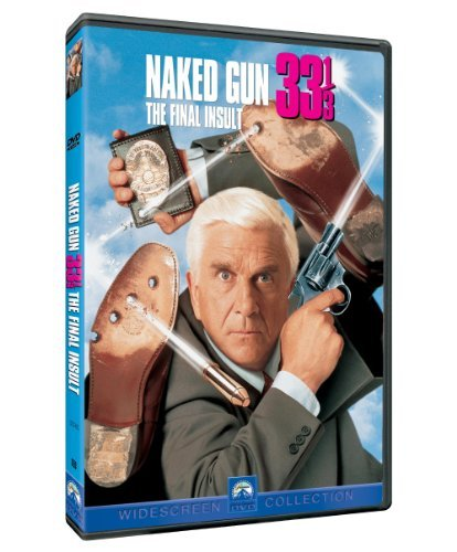 Naked Gun 33 1 3 Final Insult Nielsen Presley Simpson DVD Pg13 Ws