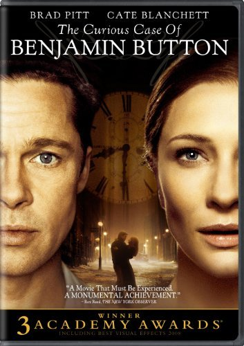 Curious Case Of Benjamin Button Pitt Blanchett Osmond Swinton DVD Pg13