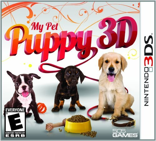 Nintendo 3ds My Pet Puppy 3d