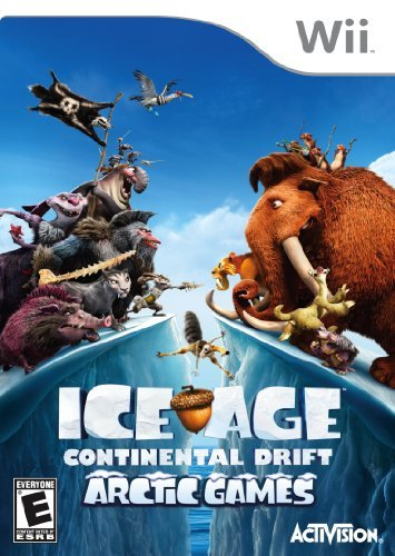 Wii Ice Age Continental Drift Arc E
