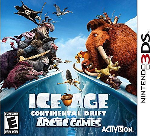 Nintendo 3ds Ice Age Continental Drift Arc Activision Inc. E