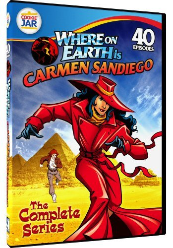 Complete Series Where On Earth Is Carmen Sandi Tvy7 4 DVD