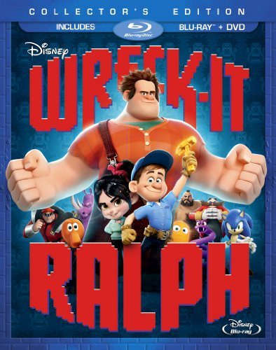 Wreck It Ralph Disney Blu Ray DVD Pg