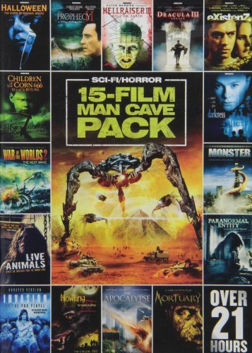 Vol. 1 15 Movie Man Cave Sci Fi Horro Nr 3 DVD
