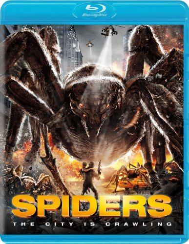 Spiders 2d 3d Muldoon Patrick Blu Ray Ws 3d Pg13