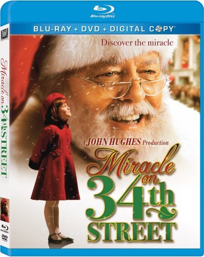 Miracle On 34th Street (1994) Perkins Mcdermott Attenborough Blu Ray Ws Pg Incl. DVD Dc