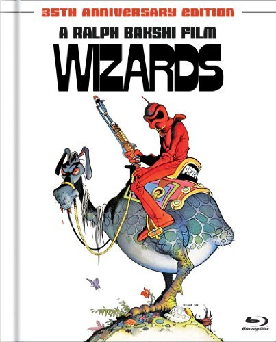 Wizards Wizards Blu Ray Ws Pg Incl. Book