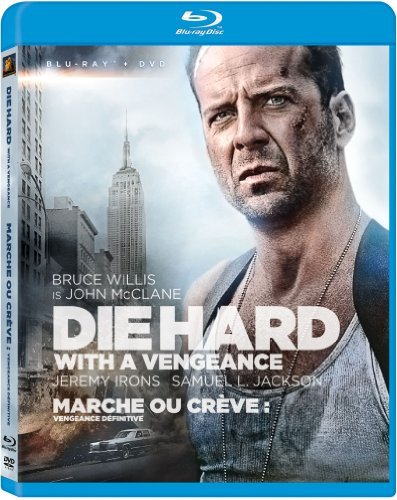 Die Hard With A Vengeance Willis Bruce Blu Ray Ws Pg13 DVD
