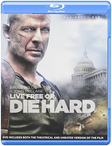 Live Free Or Die Hard Willis Bruce Blu Ray Ws Pg13 DVD