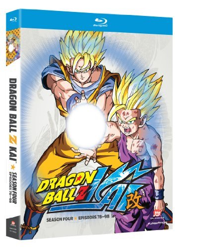 Dragon Ball Z Kai Season 4 Blu Ray Season 4