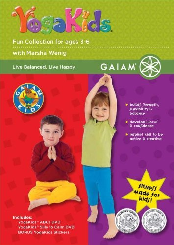 Kids Fun Yoga Collection Kids Fun Yoga Collection Nr 2 DVD