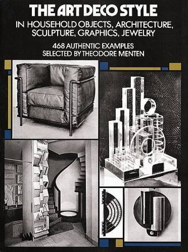 Theodore Menten The Art Deco Style In Household Objects Architecture Sculpture Gr