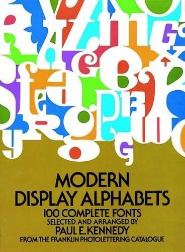 Paul E. Kennedy Modern Display Alphabets